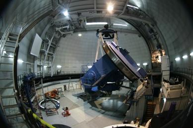 3,5-metrowy teskop wcałej okazałości