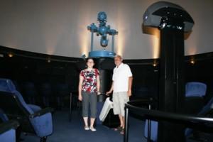 Planetarium wOgrodzie Naukowym