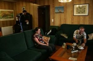 W salonie wObserwatorium Sierra Newada
