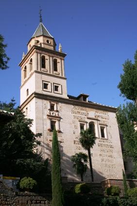Kościół wAlhambrze