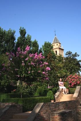 W ogrodzie Alhambry