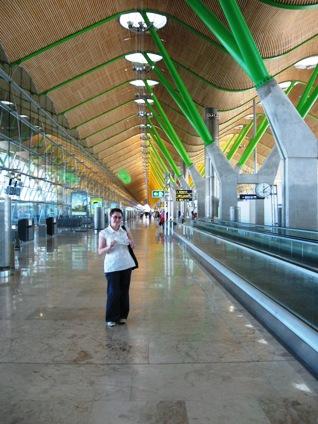 Lotnisko wMadrycie