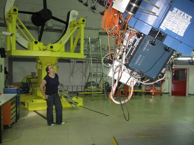 Wielki spektograf do 2,2-metrowego cassegraina