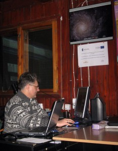 Bogusław L. przedstawił stronę www swojej szkoły