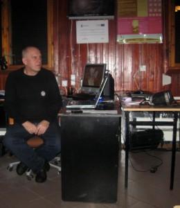 Bogusław M. opowiedział o swojej pracowni