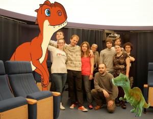 Ekipa dinozaurów nazakończeniu roku MOA