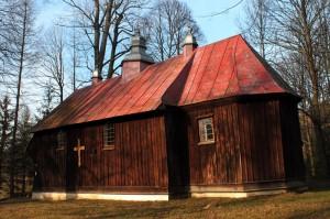 Dawna cerkiew, obecnie kościół rzymsko-katolicki w Polanie