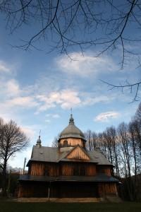 Dawniej cerkiew, obecnie kościół rzymsko-katolicki w Chmielu