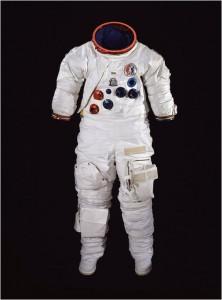 Skafander, którymiał nasobie Alan Bean podczas misji Skylab 3 w1973r.