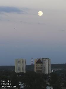 Najniższy Księżyc, 12.06.2014 godz.20.52