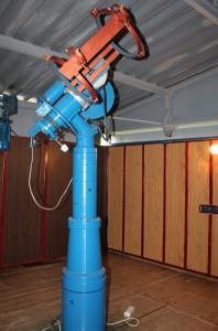 Mocowanie tuby optycznej