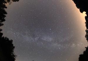 Droga Mleczna wpełnej krasie