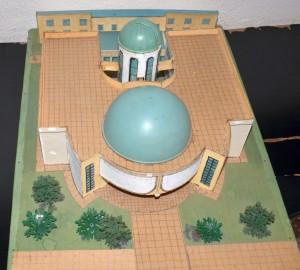 Makieta budynku Obserwatorium i Planetarium