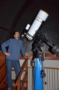 Teleskop w kopule