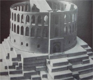 model obserwatorium Uług Bega