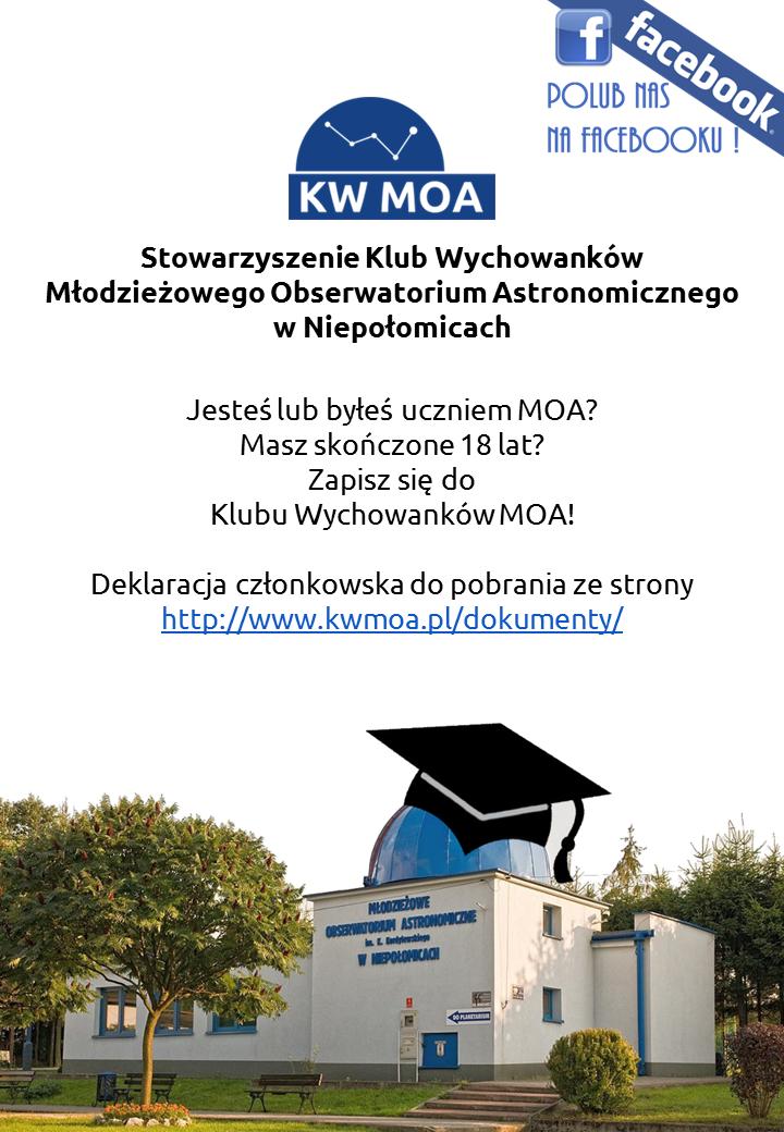Dołącz doKWMOA!